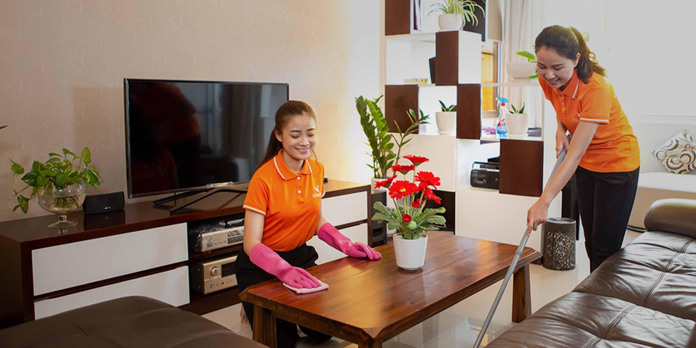 Top 10 dịch vụ vệ sinh nhà, dọn dẹp nhà cửa uy tín, chuyên nghiệp Tp Hồ Chí Minh
