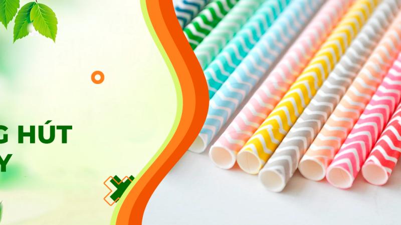 Top 10 xưởng sản xuất ống hút giấy, ly giấy, túi giấy thân thiện với môi trường