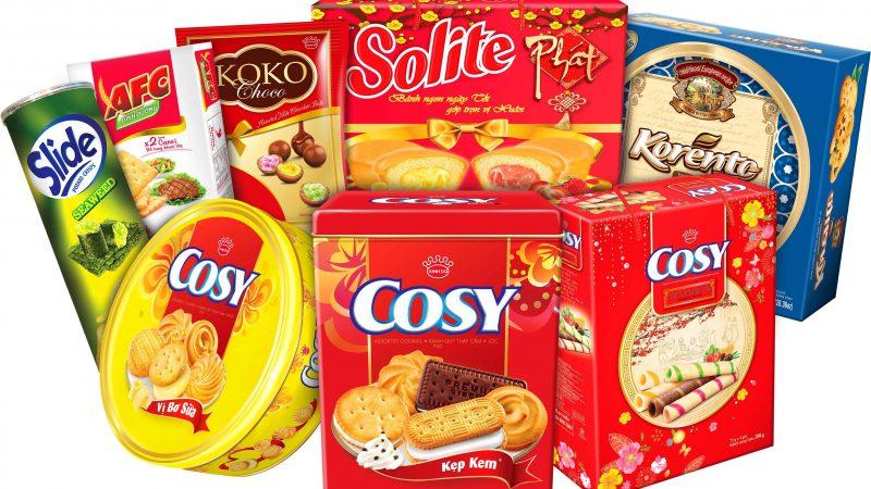 Top 10 công ty sản xuất bánh kẹo uy tín tại Việt Nam