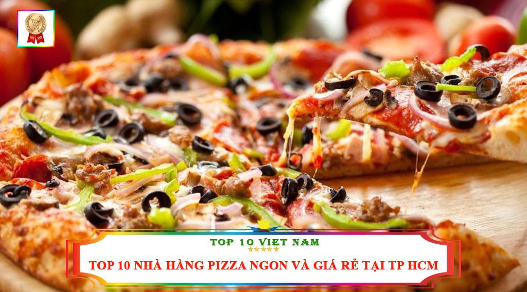 Top 10 địa chỉ bán bánh Pizza ngon, rẻ Tp HCM
