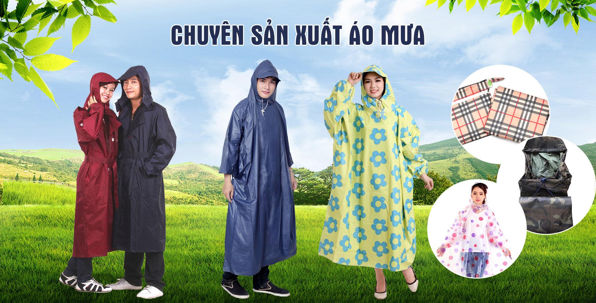Top 10 công ty sản xuất cung cấp áo mưa đẹp, giá rẻ tại Tp Hồ Chí Minh